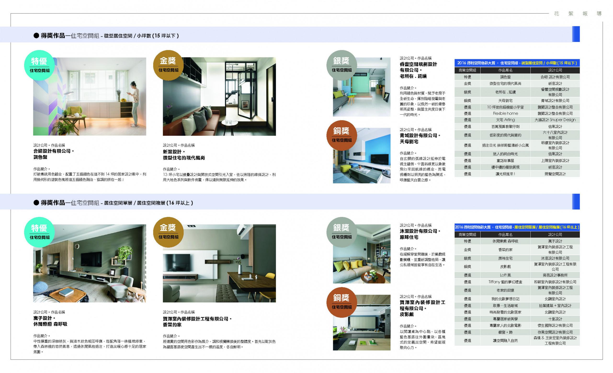 微型居住空間特優:合砌設計《調色盤》